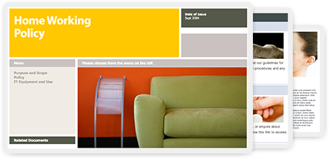 Over 200 beautiful Intranet content templates designed to save you time
