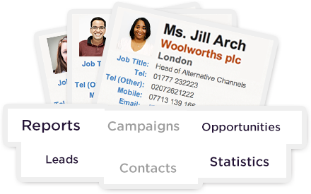 Manage all your Prospects, Customers, Leads and Opportunities using the Intranet CRM module